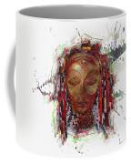 Makonde Mapiko - Lipiko Mask Coffee Mug