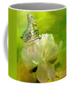 Malachite On Peony Coffee Mug