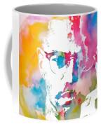 Malcolm X Watercolor Coffee Mug