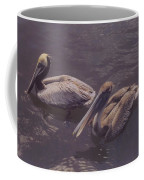 Male And Female Pelicans Coffee Mug