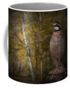 Male Bobwhite Quail Coffee Mug