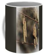 Male Hazel Catkins Coffee Mug