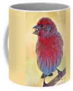 Male Housefinch - Digital Paint Coffee Mug