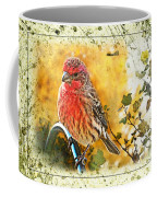 Male Housefinch Photoart Coffee Mug
