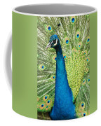 Male Indian Peacock Coffee Mug