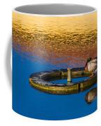 Male Mallard Duck Coffee Mug by Carolyn Marshall