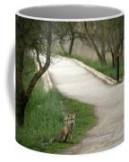 Male Red Fox Vulpes Vulpes Coffee Mug