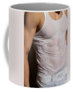 Male Wet Tank Top Coffee Mug
