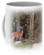 Male Whitetail Deer Coffee Mug