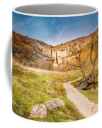 Malham Cove In Malhamdale Coffee Mug