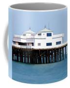 Malibu Pier On A California Blue Sky Day Coffee Mug