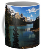Maligne Lake Beauty Of The Canadian Rocky Mountains Coffee Mug