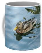 Solitaire Mallard Duck Coffee Mug