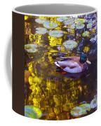 Mallard Duck On Pond 2 Coffee Mug