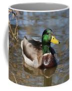 Mallard Duck Watches Coffee Mug
