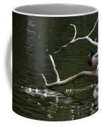 Mallard Standing Post Coffee Mug