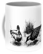 Mallards In The Marsh Coffee Mug