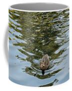 Mallards On Golden Pond 4 Coffee Mug