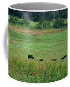 Mama Bear And 4 Cubs Coffee Mug