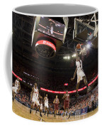 Mamadi Diane Dunk Against Boston College Coffee Mug