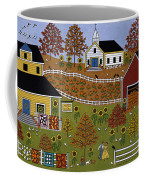 Mama's Quilts And Papa's Pumpkins Coffee Mug