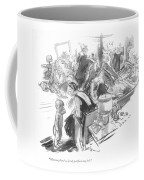 Mamma, There's A Lot Of People In My Bed Coffee Mug