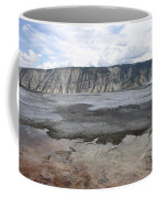 Mammoth Hot Spring Landscape Coffee Mug