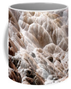 Mammoth Hot Springs Closeup Coffee Mug