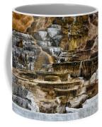 Mammoth Hot Springs - Yellowstone Coffee Mug