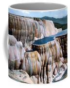 Mammoth Hot Springs Yellowstone Np Coffee Mug