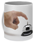 Man About To Ring A Bell Coffee Mug