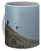 Man And Dog Coffee Mug