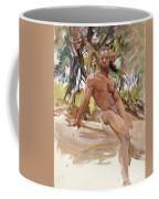 Man And Trees. Florida Coffee Mug