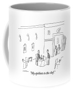 Man At Restaurant Says To His Waiter Coffee Mug