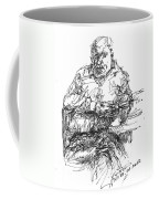 Man At The Bar Coffee Mug