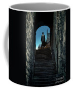 Man At The Top Of The Steps Coffee Mug