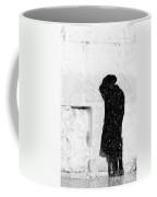 Man At Western Wall Coffee Mug