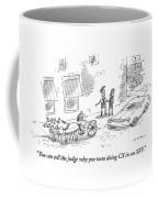 Man Dressed In Roman Garb Coffee Mug