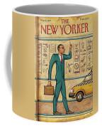 Tuts Taxi Coffee Mug