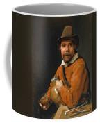 Man Holding A Jug Coffee Mug