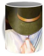 Man In Hat Coffee Mug
