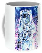 Man On The Moon - Watercolor Portrait Coffee Mug