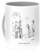 Man Referring To Children Coffee Mug