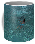 Man Swimming Coffee Mug