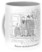 Man Talking To Priest Coffee Mug
