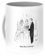 Man To Wife During Wedding Vows Coffee Mug