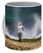 Man Versus The Sea Coffee Mug
