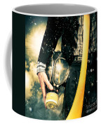 Man With Gas Mask. New Beginning. Skys The Limit Coffee Mug