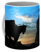 Man With His Horse Coffee Mug