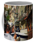 Manarola  Street - Cinque Terre Coffee Mug